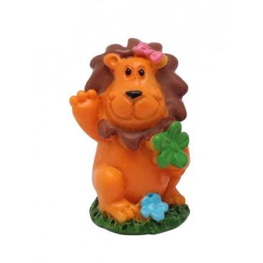 Figura roscón león trébol