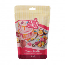 Deco Melts rojo Funcakes