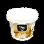 Crema de chocolate blanco con galleta