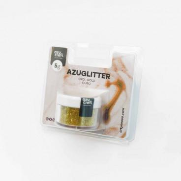 Purpurina Azuglitter oro no tóxica