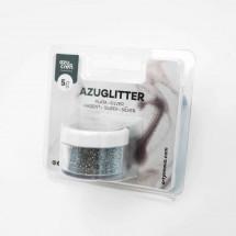 Purpurina Azuglitter plata