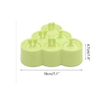 Molde para helados animalitos verde