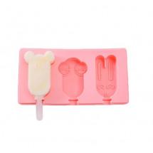 Molde para helados conejitos