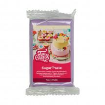 Funcakes fondant fancy violet 250 gr.