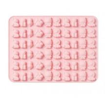 Molde de silicona león rosa