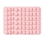 PREVENTA Molde de silicona león rosa