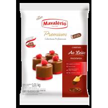 Cobertura de chocolate con leche Mavalério