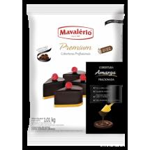 Cobertura de chocolate amargo Mavalério