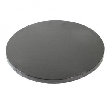 FunCakes Base 1 cm. 30 cm. Negra