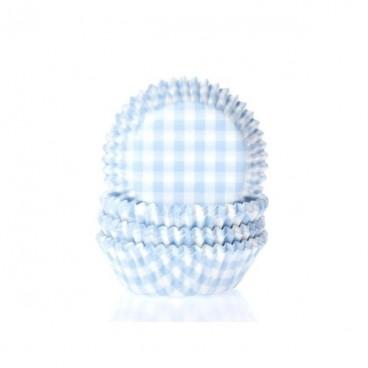 Cápsulas vichy blanco y azul pastel. HoM.