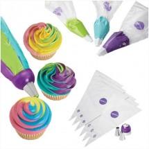 Set Decoración ColorSwirl Adaptador Tricolor