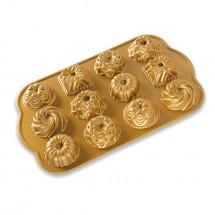 Bundt charms gold