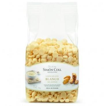 Gotas de chocolate blanco Simón Coll