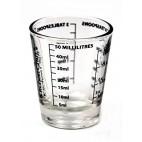 Vasito medidor de vidrio 50ml