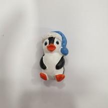 Figura roscón pingüino dormilón