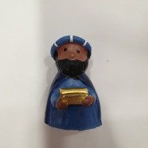 Figura roscón Baltasar azul